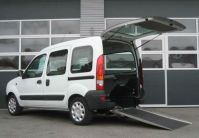 Renault Kangoo per trasporto disabili in carrozzina