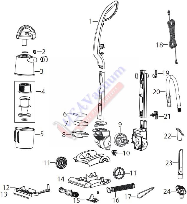 Vacuum Parts: Bissell Vacuum Parts