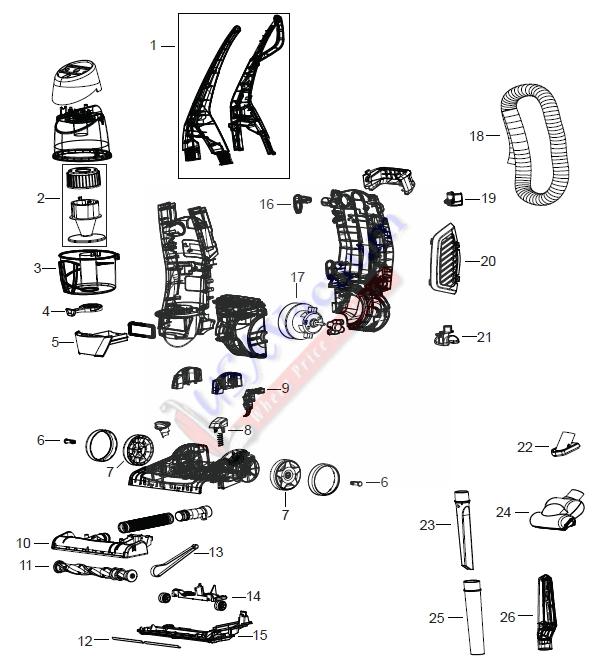Vacuum Parts: Vacuum Parts For Bissell