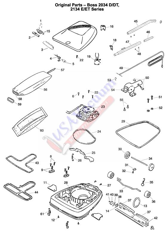 Vacuum Parts: Vacuum Parts Eureka Boss