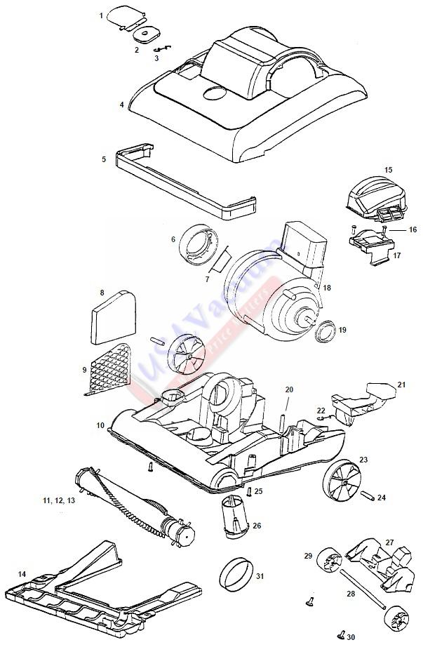 Vacuum Parts: Eureka Vacuum Parts
