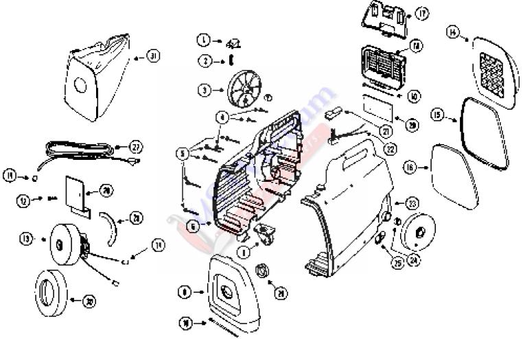 3112 Mighty Mite Parts List & Schematic