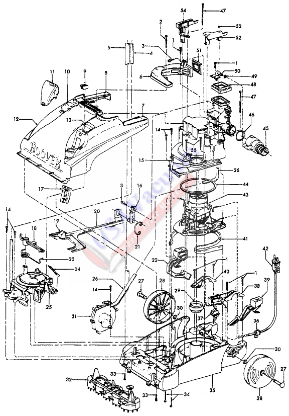 bissell proheat 2x hose diagram 1992 club car golf cart wiring belt replacement diagrams shark vacuum cleaner imageresizertool com troubleshooting pet