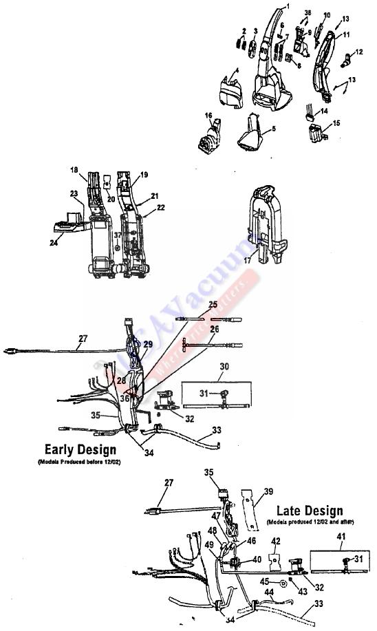 Wiring Diagram Of Hoover Carpet Cleaner Hoover Vacuum
