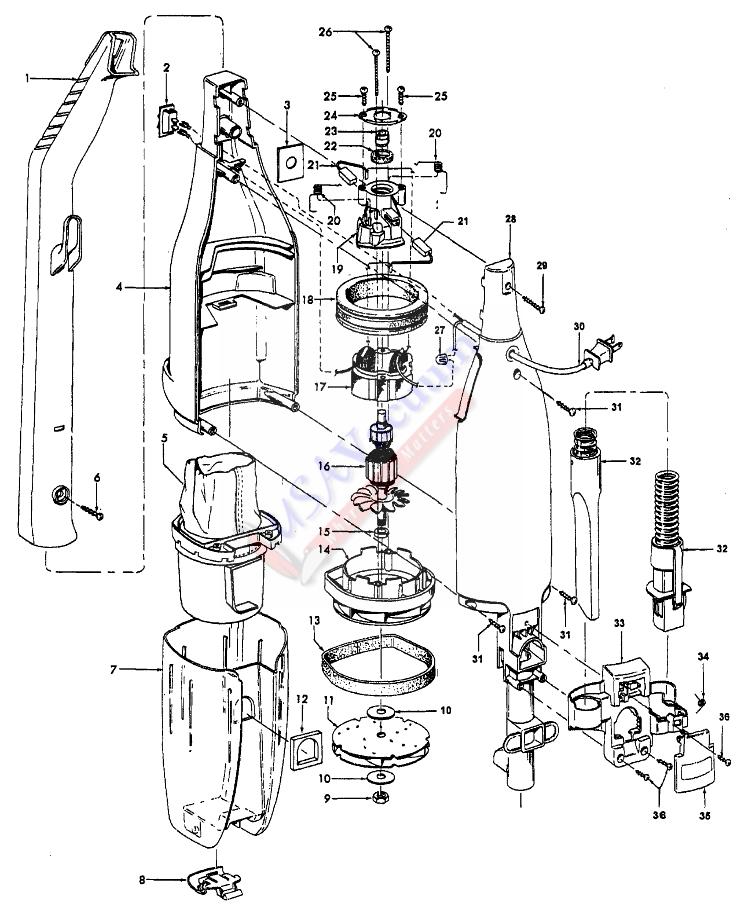 Vacuum Parts: Hoover Vacuum Parts