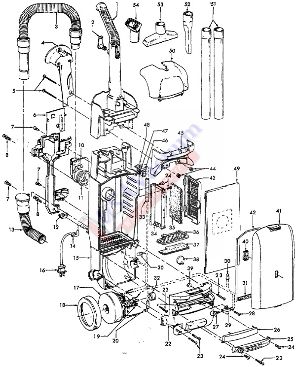 hoover vacuum windtunnel t series manual
