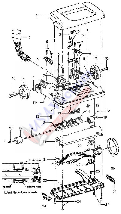 parts for u5403