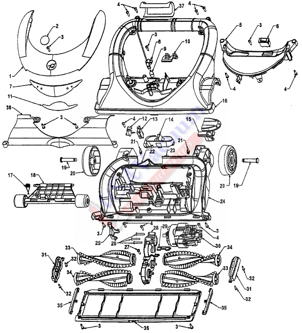 hoover windtunnel t series parts diagram gy6 150cc wiring vacuum images of