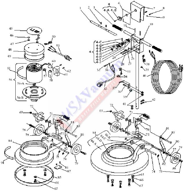 Koblenz RM-1715 Commercial / Industrial Floor Machine