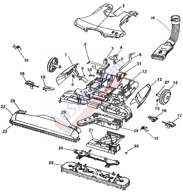 HOOVER H3000 PARTS