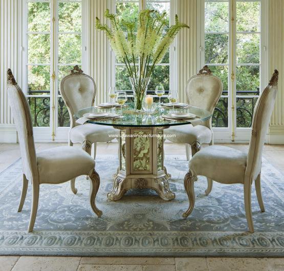 Platine De Royale Round Dining Set