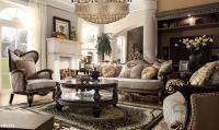Homey Design HD-551 Luxury Fabric Living set - USA ...