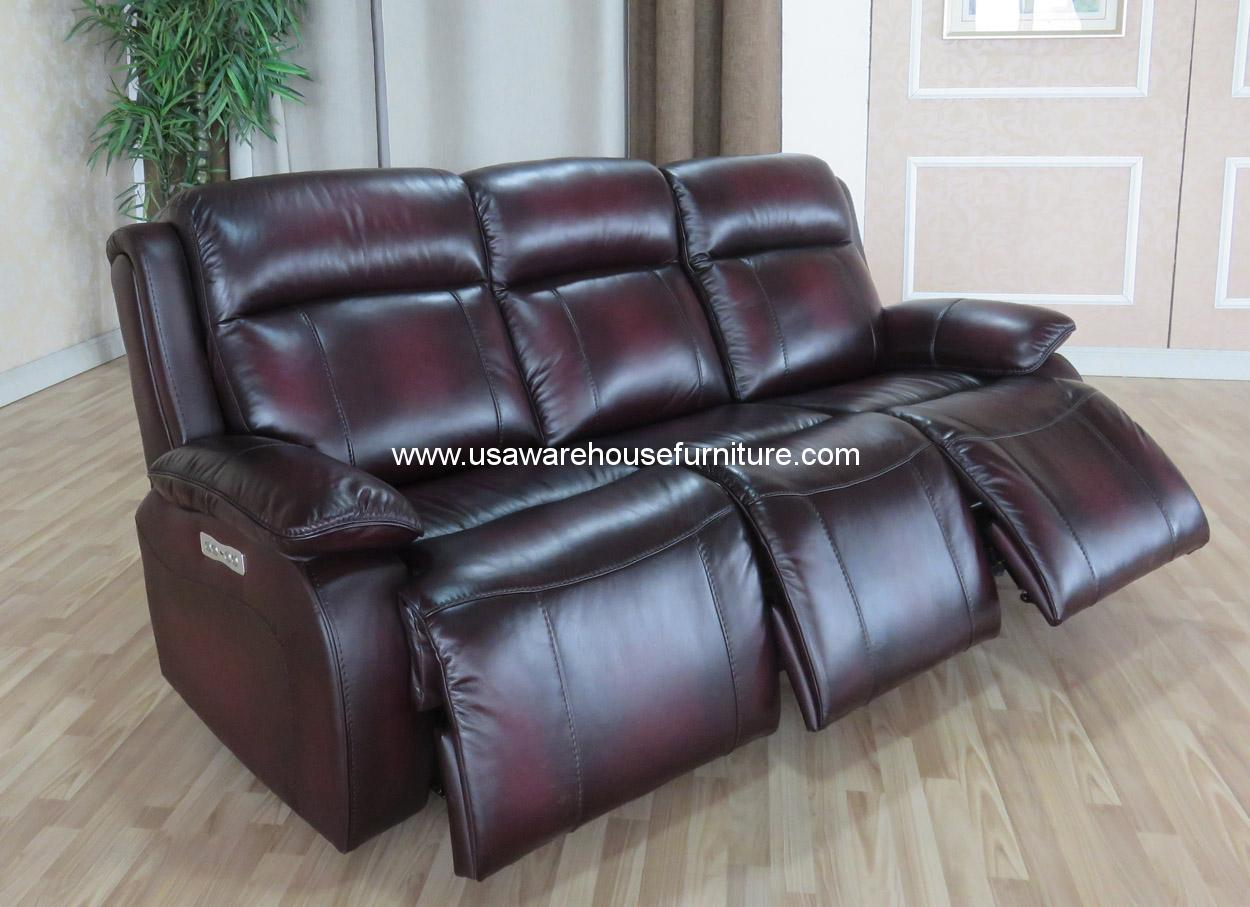 best sofas made in the usa 3 seater black fabric sofa bed faraday full top grain leather power recliners