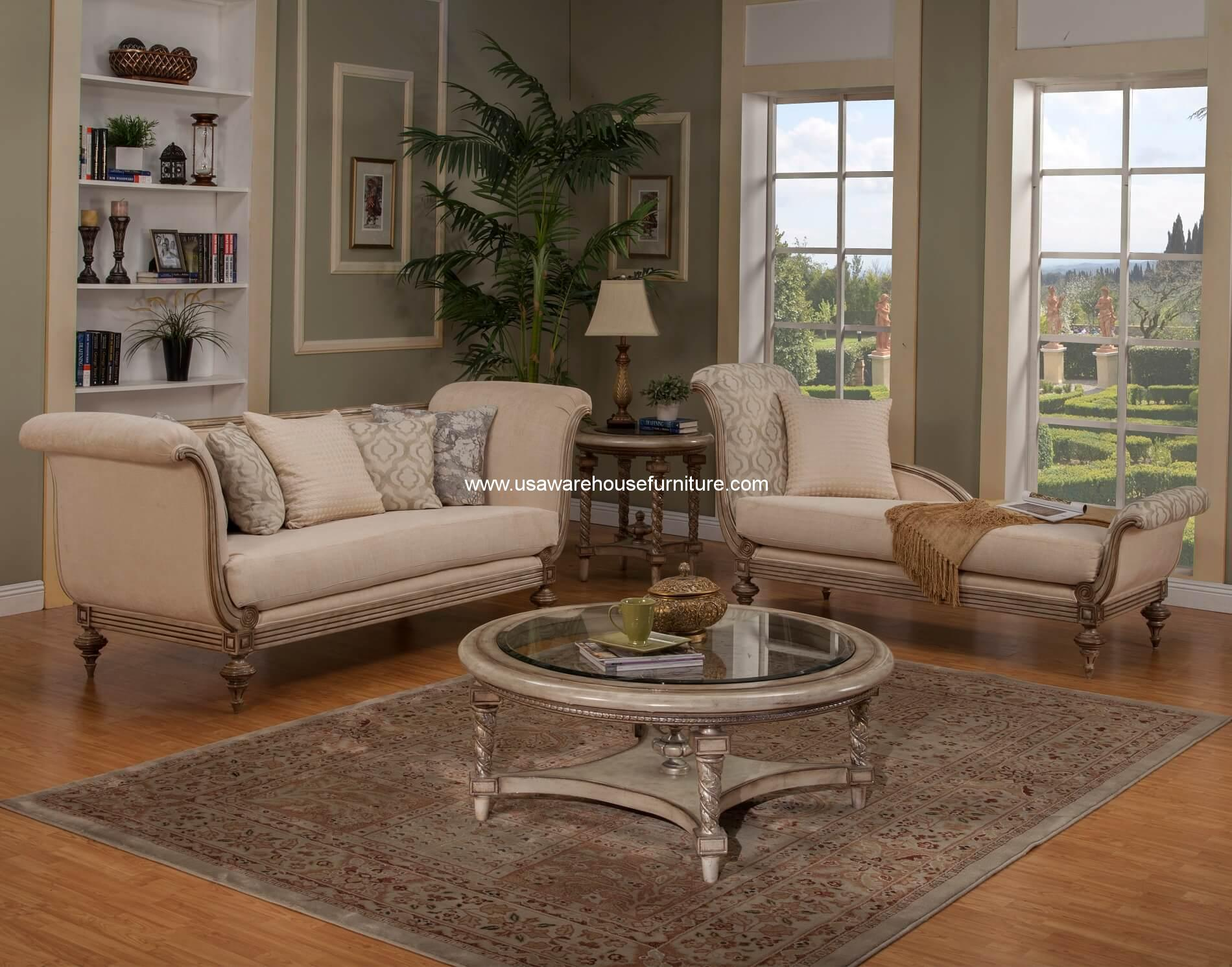 sofa and chaise lounge set ashley hillspring reviews milerige wood trim