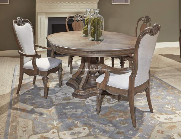 Oval Formal Dining Room Sets Round