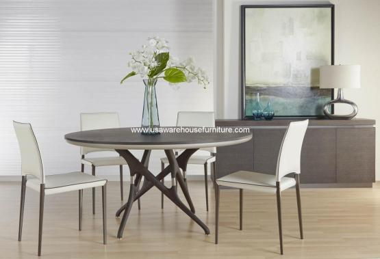 Banyan Round Dining Set With Lola Chair