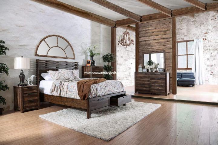 4 Piece Hankinson Storage Bedroom Set