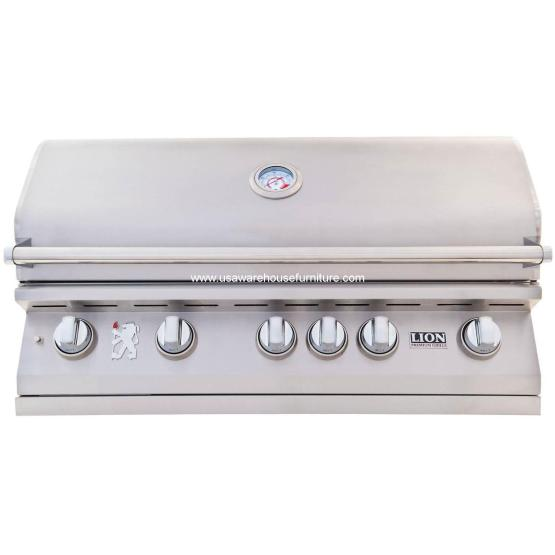 5 Burners Premium Grills Lion - L90000 Stainless Steel
