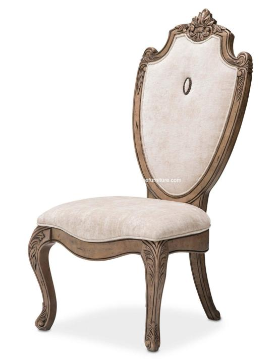 Villa Di Como Side Chair Heritage Finish