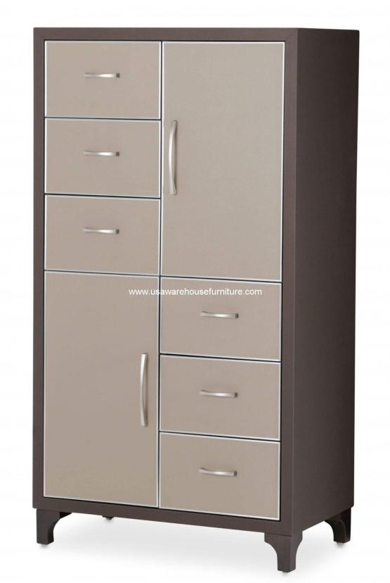 Michael Amini 21 Cosmopolitan Taupe Chest