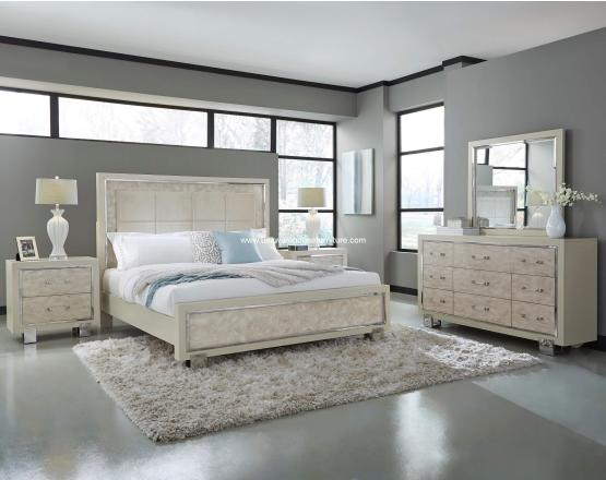 4 Piece Cydney Panel Bedroom Set