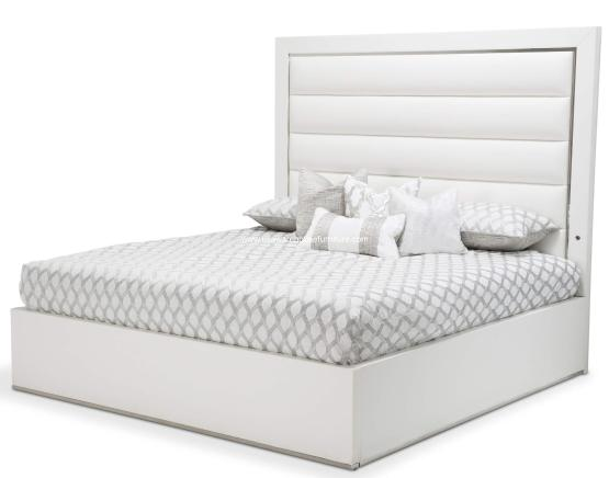 Michael Amini State St Panel Bed