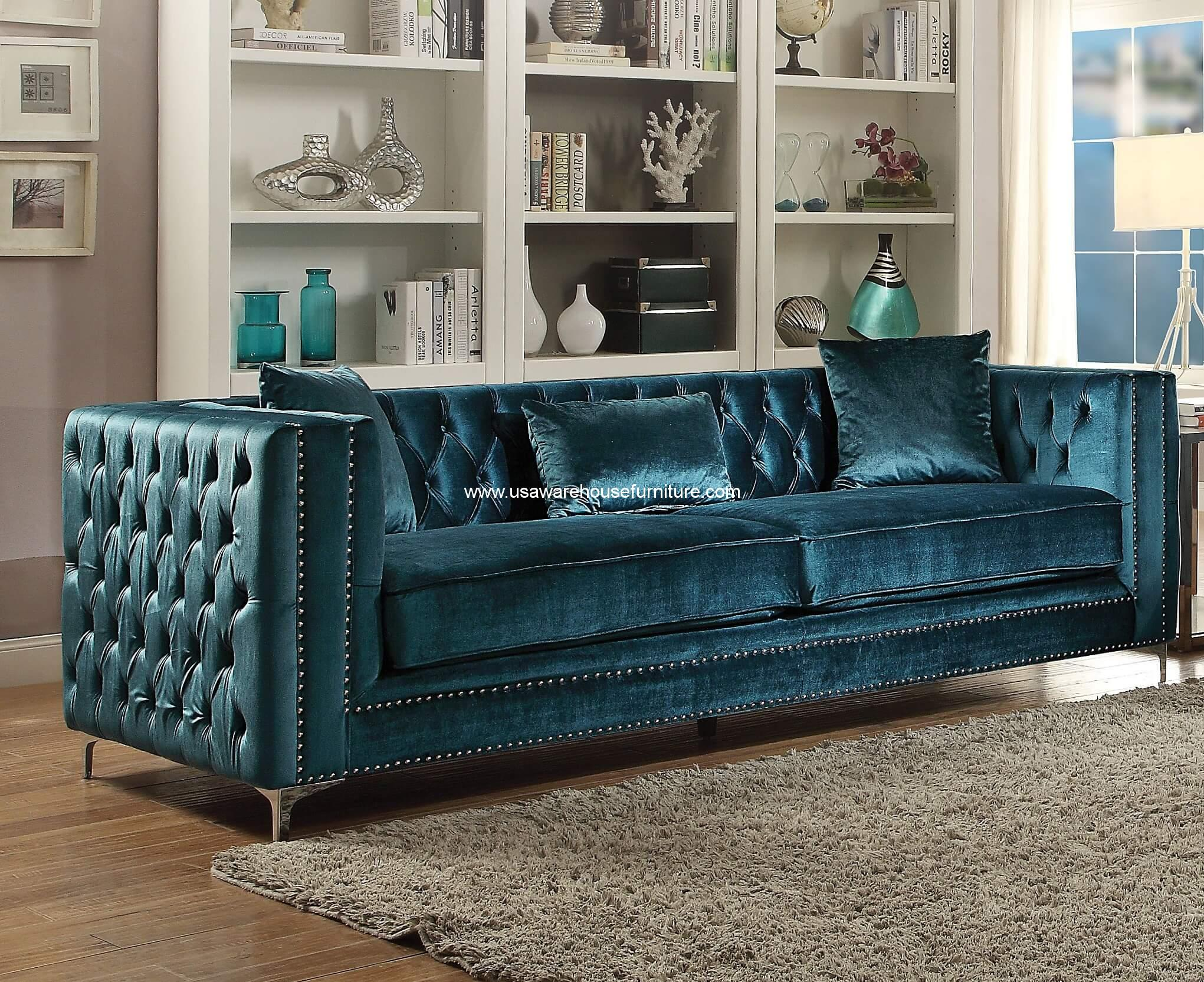 dark teal chair ergonomic arm chairs gillian sofa velvet usa warehouse furniture