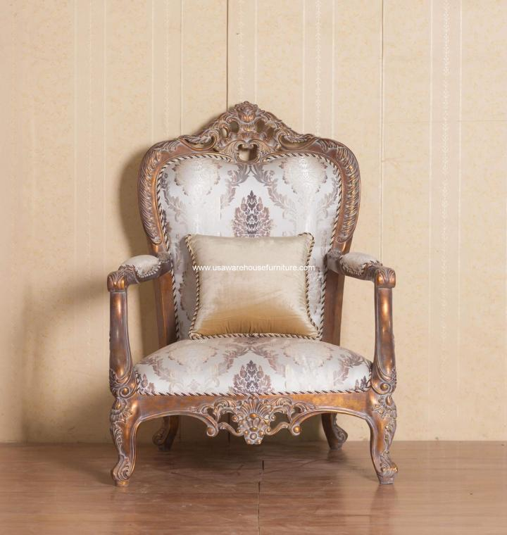 Peachy Victorian Wood Trim Accent Chair Creativecarmelina Interior Chair Design Creativecarmelinacom