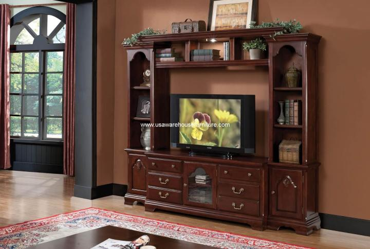 4 Piece Hercules Entertainment Center
