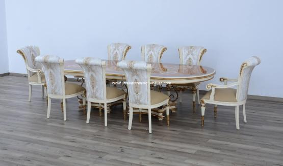 9 Piece Valentina Dining Set