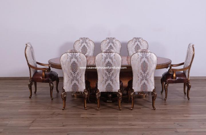 9 Pieces Bellagio Formal Dining Set