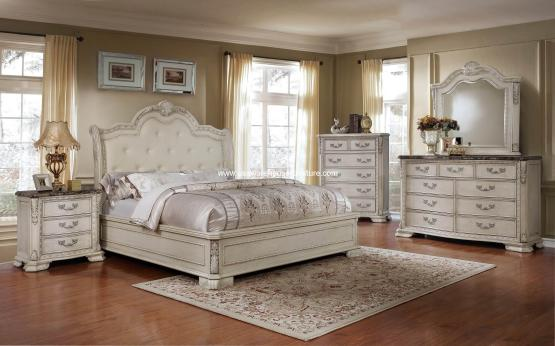 4 Piece B1000 Florence Bedroom Set