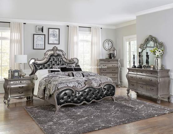 4 Piece Brigette Bedroom Set