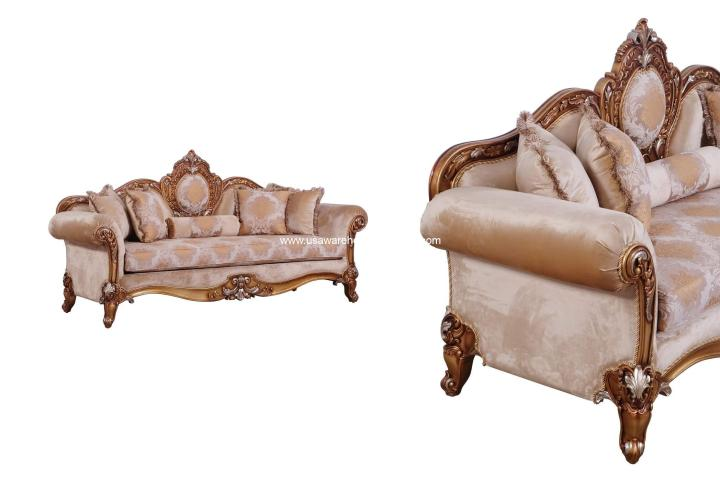 Raffaello II Brown Sofa