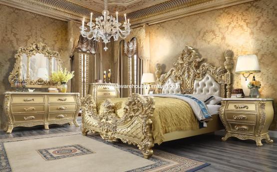 5 Piece HD-1801 Bedroom Set