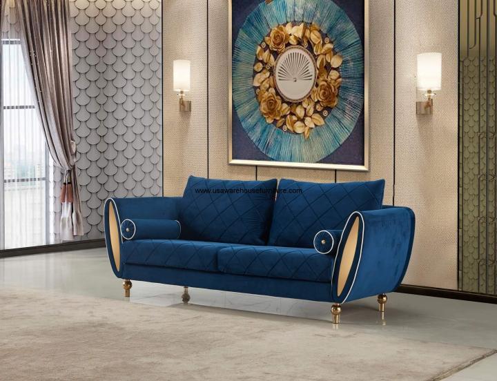 Sipario Vita Blue Sofa