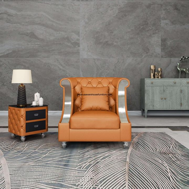 Mayfair Chair Cognac Premium Leather
