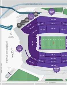 Exterior also stadium maps   bank rh usbankstadium
