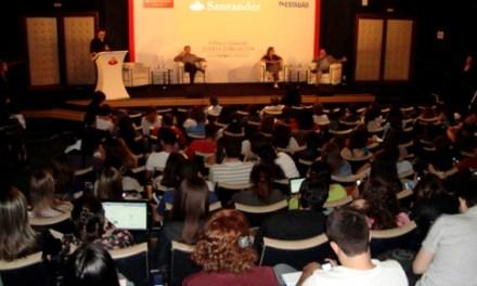 Estadão e Banco Santander incentivam carreira de estudantes de jornalismo