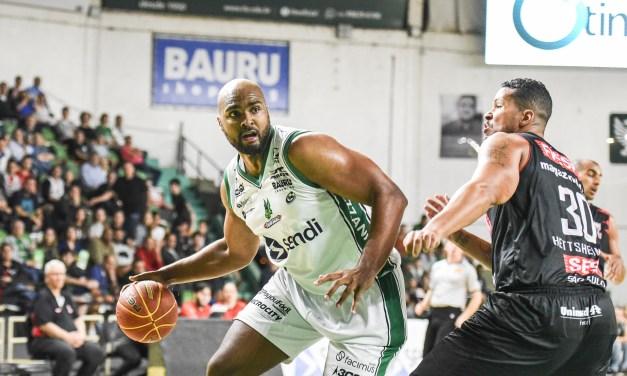 Bauru Basket vence clássico contra Franca e mantém a invencibilidade em casa