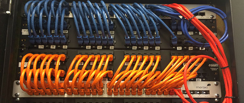 Houston Texas Best High Quality Voice & Data Cabling Network Solutions Contractor