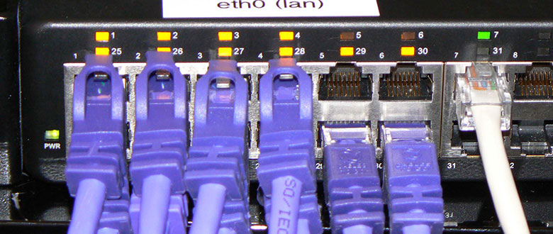 Rialto California On Site Network, Voice and High Speed Data Cabling Solutions
