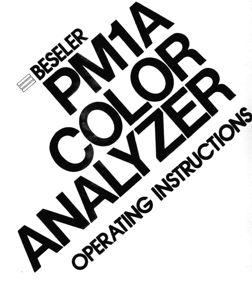 Beseler Instruction Manuals from USCamera.com