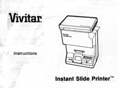 Vivitar Owners Manuals from UScamera.com