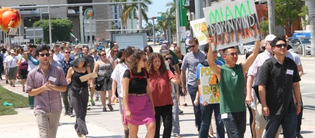 Action led by the Miami Climate Alliance