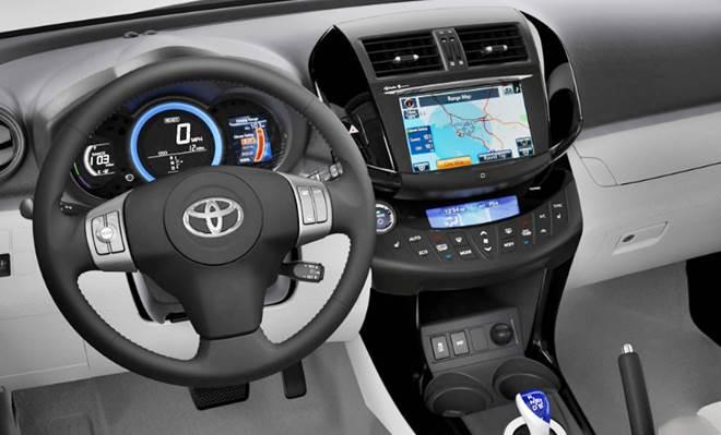 2021 Toyota RAV4 Interior Redesign