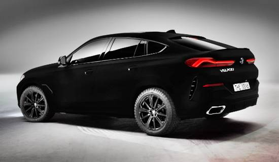 2020 BMW X6 Vantablack Price