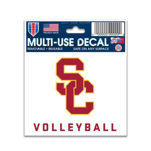 Usc Volleyball Slogan Decal