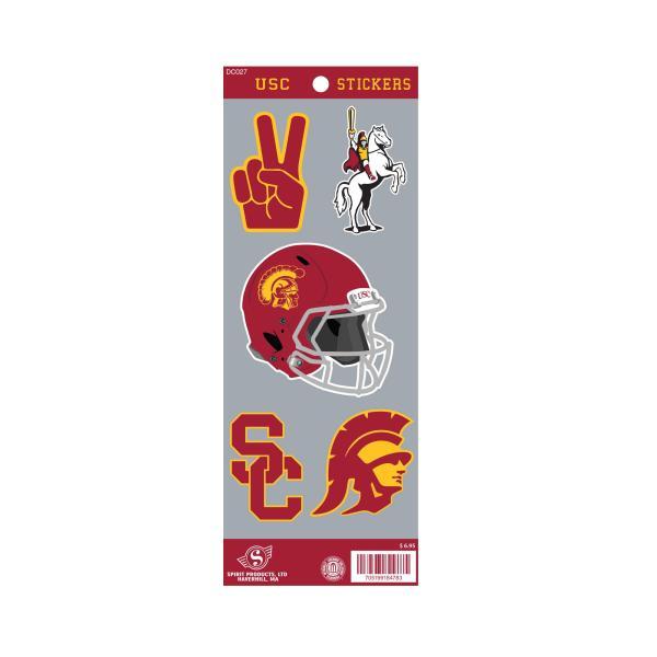 Usc Custom Sticker Sheet