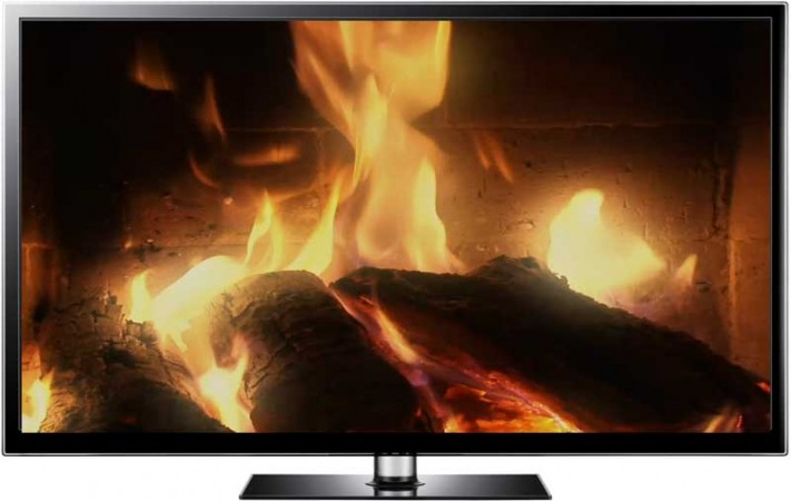 Close Up Fireplace Screensaver Download with HD Video